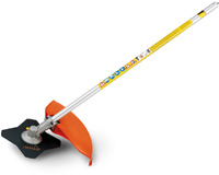 FS-KM Brushcutter With 4-Tooth Grass Blade